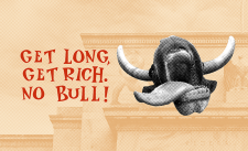 Charging Bull Card