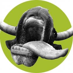 Bull-Circle---Halftone