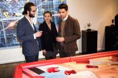 """Corporation by Corp Cru"" gallery opening at Georges Bergès Gallery in New York, NY. Photos by Mark Kauzlarich"